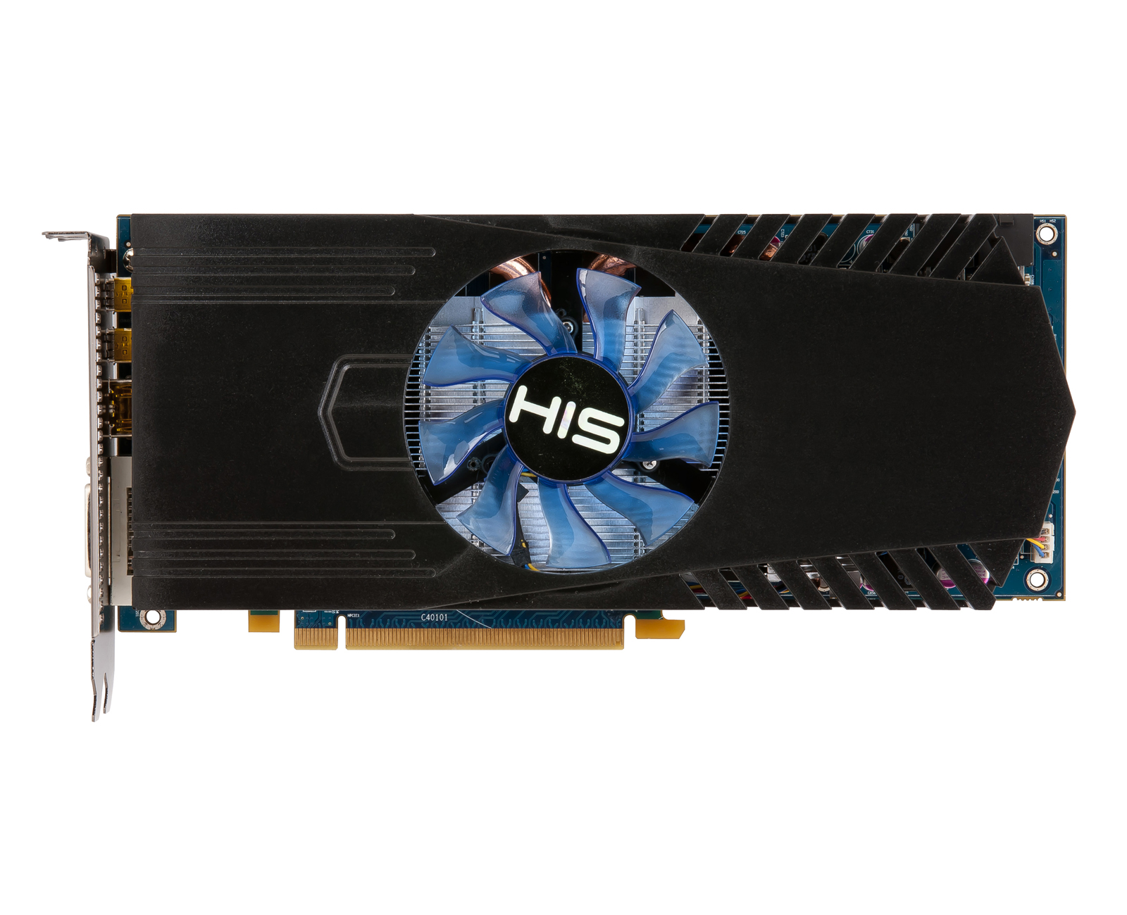 His 7870 Fan 2gb Gddr5 Pci E Dvi Hdmi 2xmini Dp Hd 7800 Series Power Supply Computer Merk Up 500w Desktop Graphics Products Graphic Cards