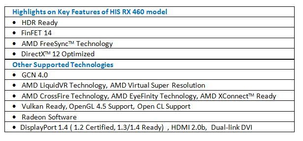 HIS RX 470 iCooler OC 4GB < RX 470 Series < Desktop graphics