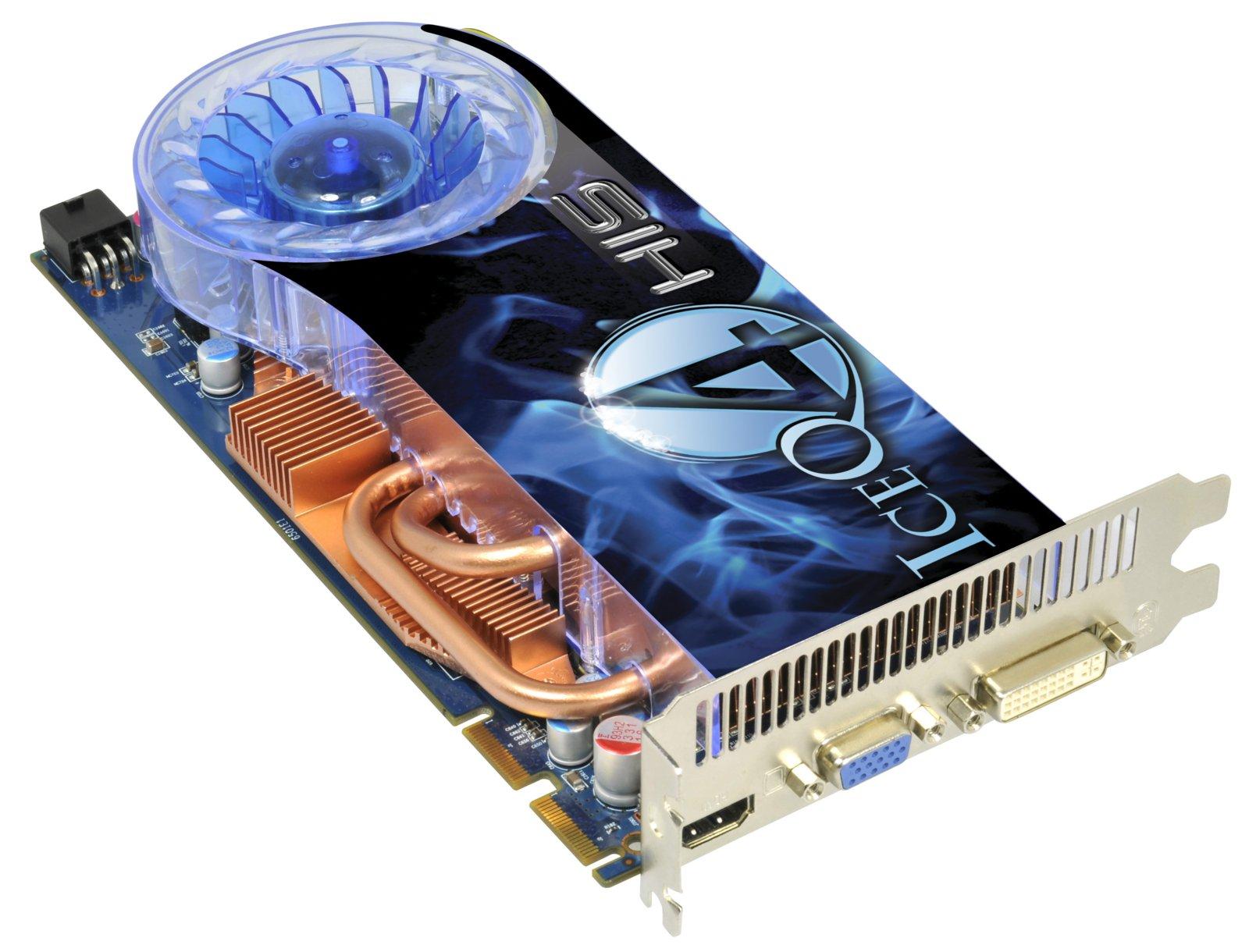 HIS HD 4850 IceQ 4 Native HDMI 1GB256bit GDDR3 PCIe Legacy Products Desktop Graphics