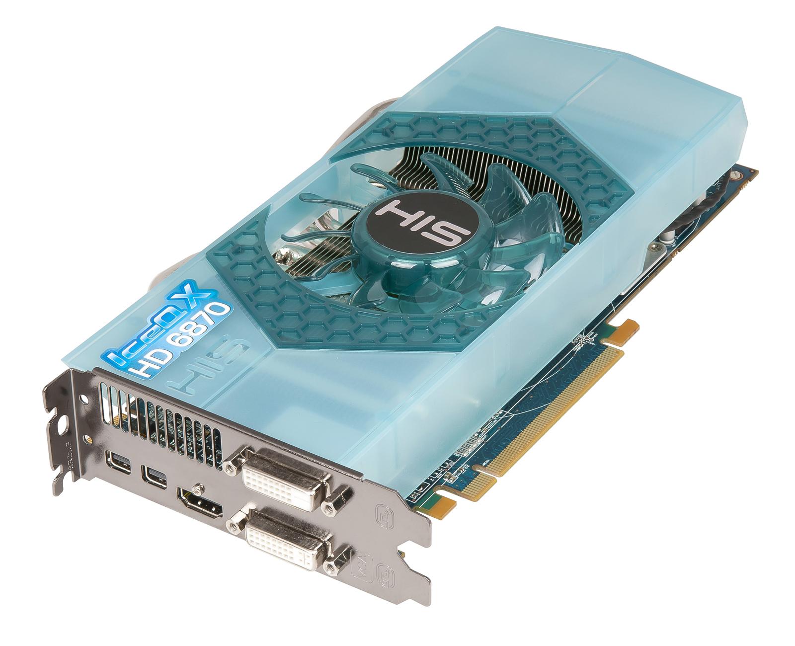 HIS 6870 IceQ X 1GB GDDR5 PCI-E HDMI/2xDVI/2xMini DP