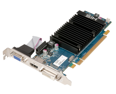HIS-ATI-Radeon-HD6450-PCI-E-Video-Card-1GB-HDMI-graphics-adapter-Low-Profile