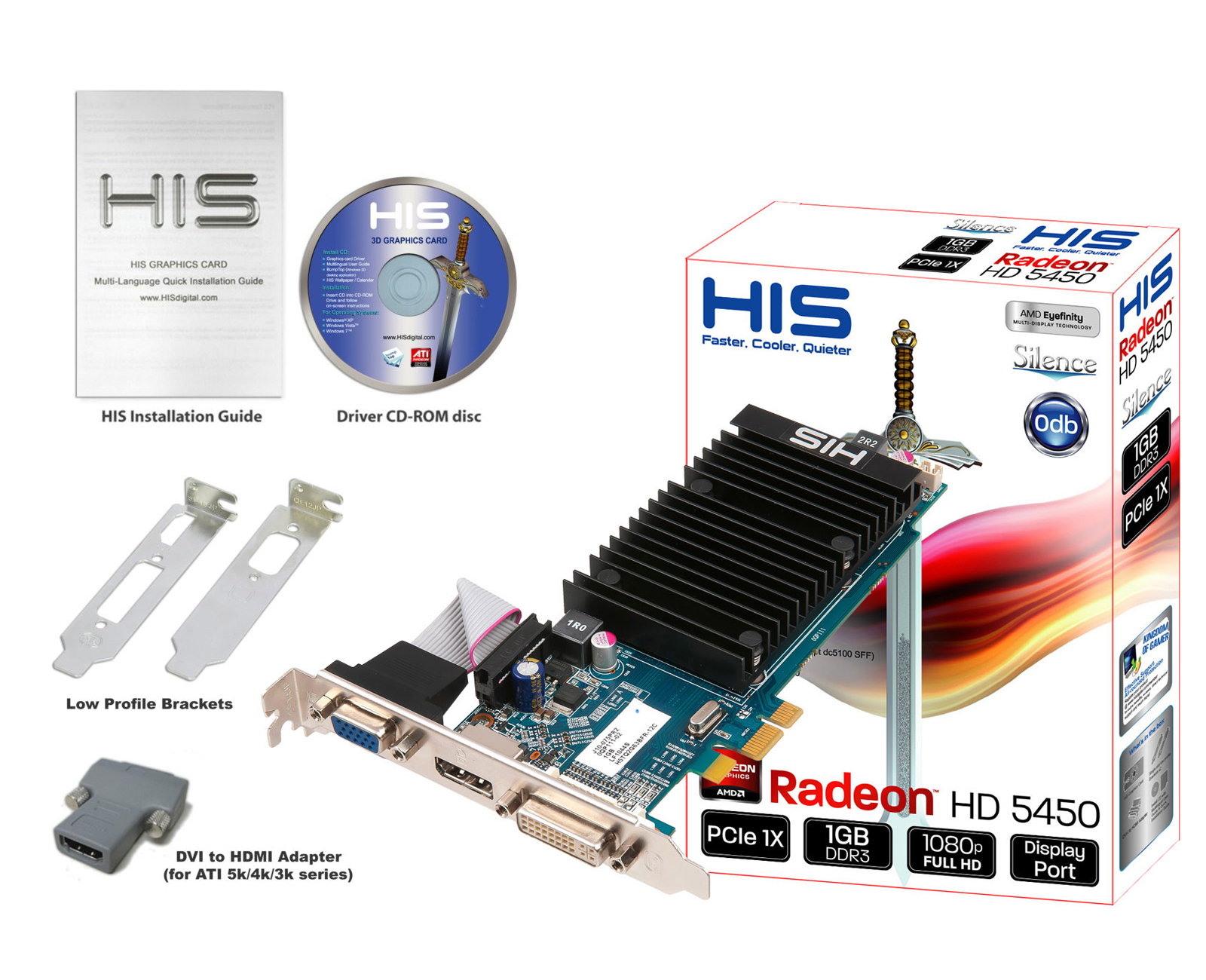 his 5450 silence 1gb ddr3 pcie 1x dp dvi vga u003c special series rh hisdigital com Graphic Tour Uide Graphic Tour Uide