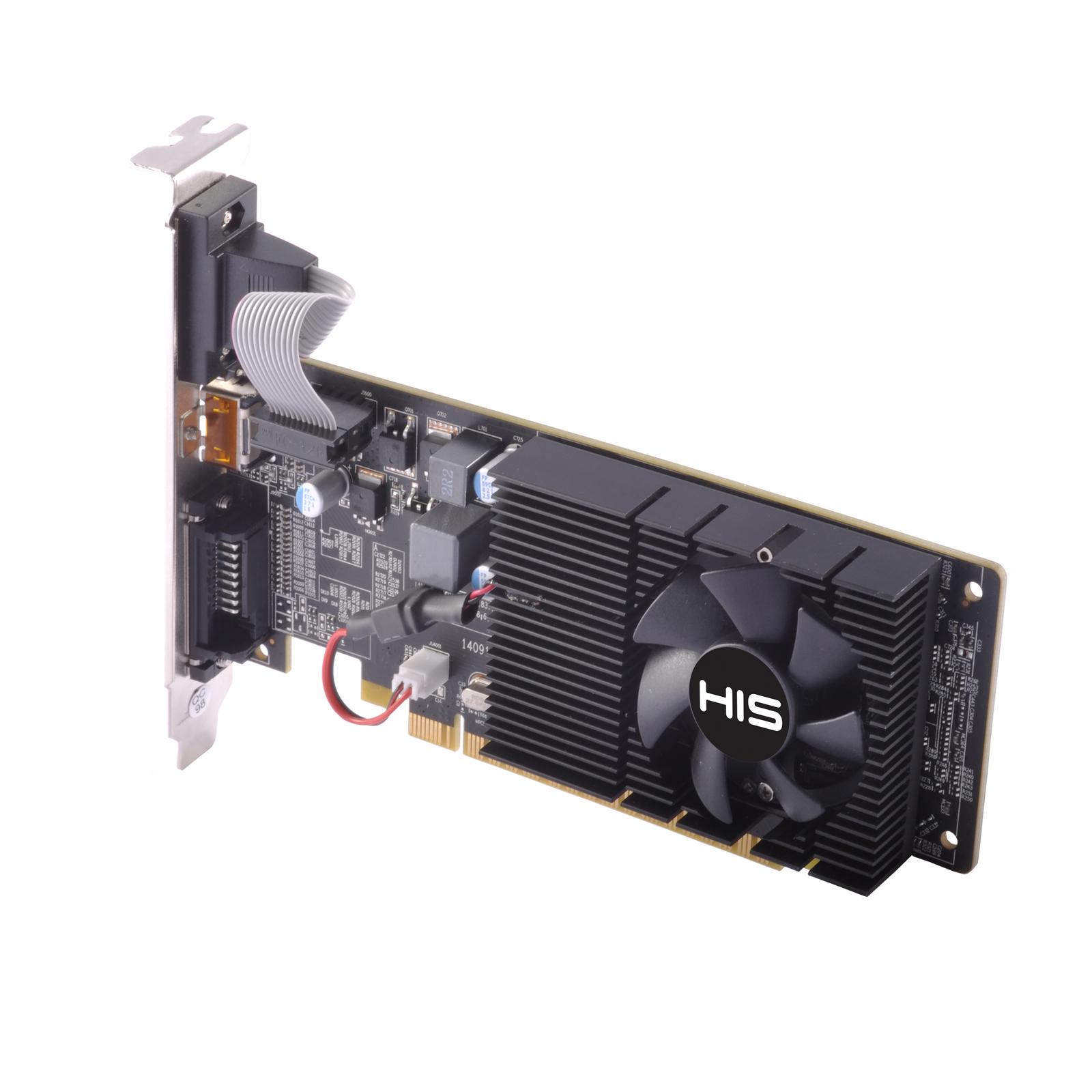 HIS R5 230 Fan 2GB DDR3 PCI-E DVI/HDMI/VGA < R5 230 Series