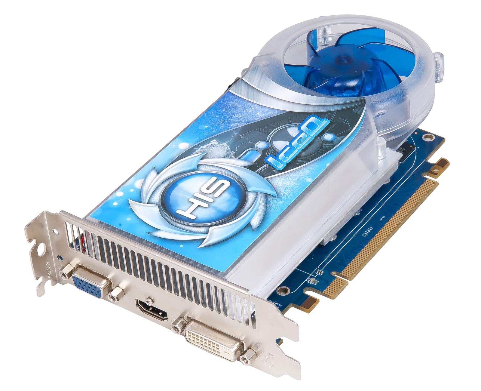 HIS R7 250 IceQ Boost Clock 1GB GDDR5 PCI-E HDMI/SLDVI-D/VGA
