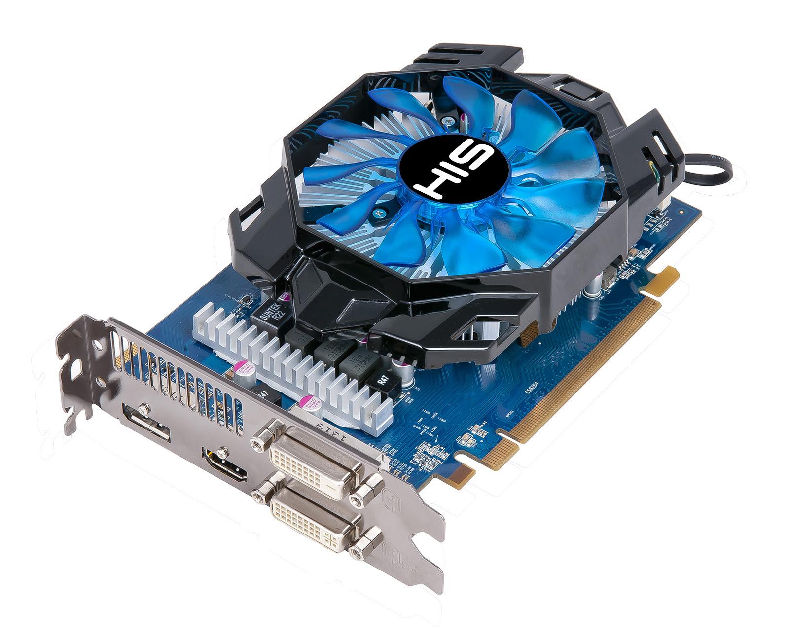 HIS R7 260X iCooler 2GB GDDR5 PCI-E DLDVI-D+DLDVI-I/DP/HDMI