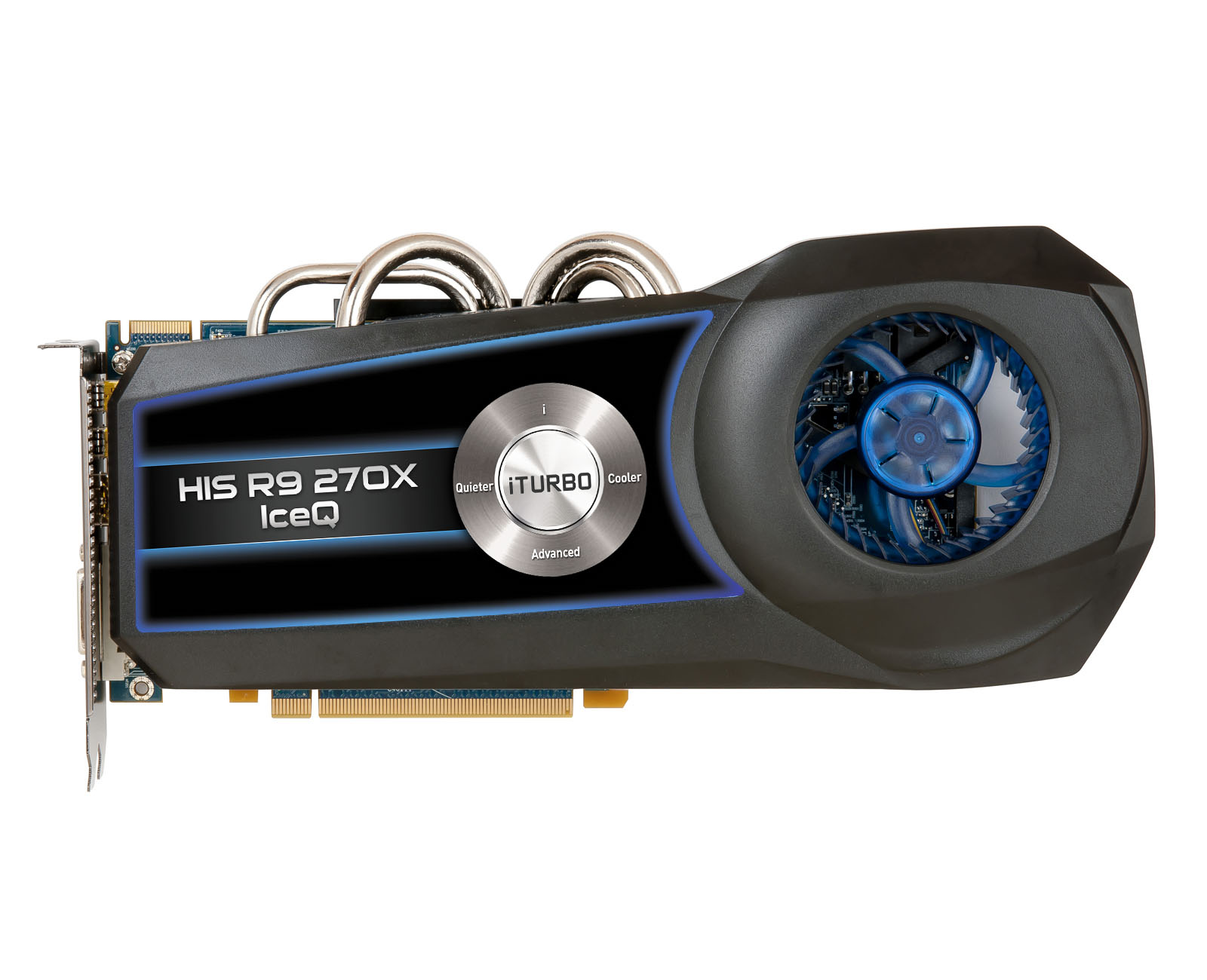 HIS R9 270X IceQ Boost Clock 2GB GDDR5 PCI-E DLDVI-I/HDMI/2xMini DP