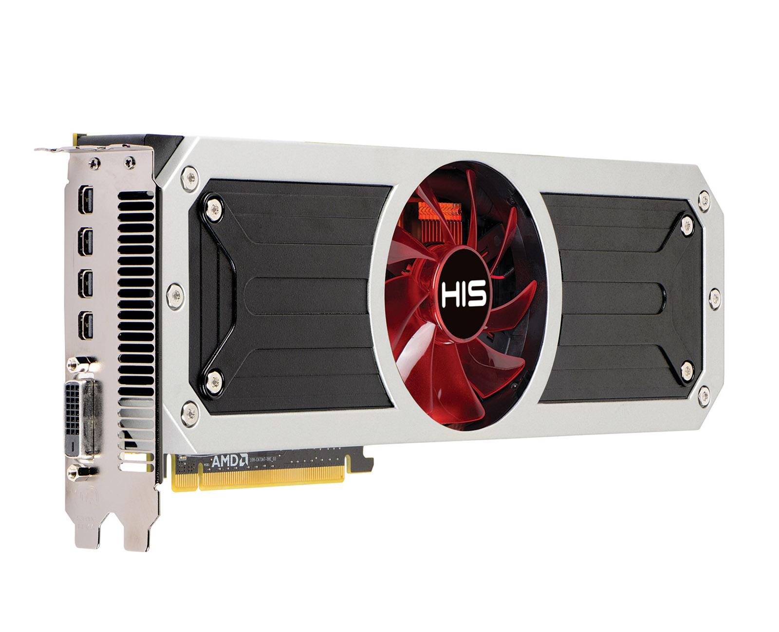 HIS R9 295X2 Liquid Cooler 8GB GDDR5 PCI-E DLDVI-D/4xMini DP < R9