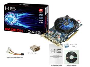 HIS HD 4850 Fan 512MB (256bit) GDDR3 PCIe < Legacy Products ...