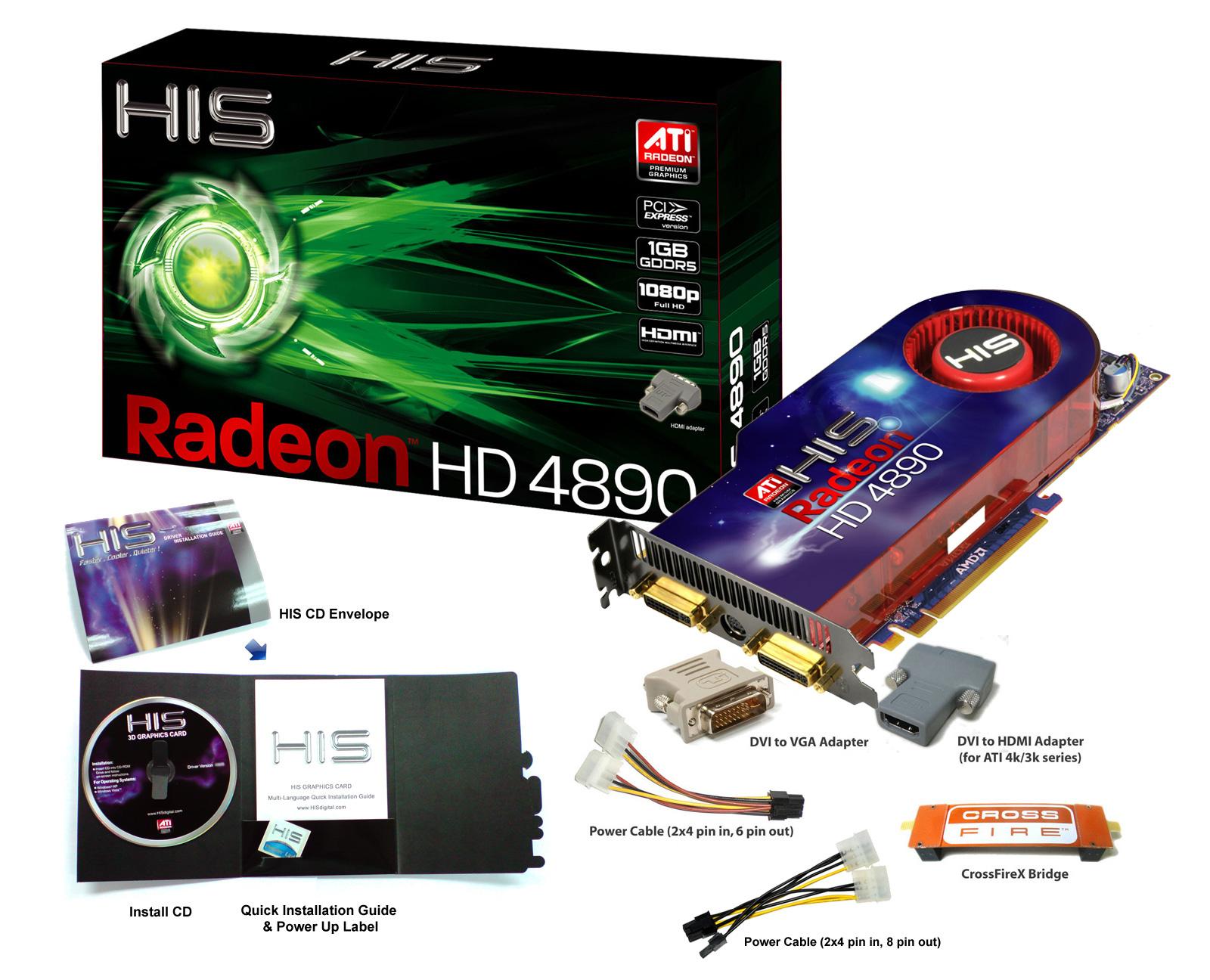Ati Radeon HD 4890 драйвера