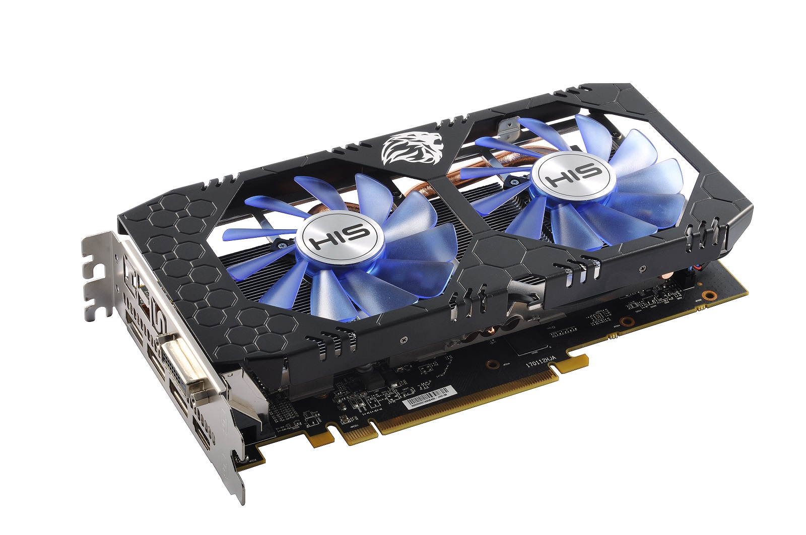 HIS RX 570 IceQ X² OC 4GB < RX 570 Series < Desktop Graphics