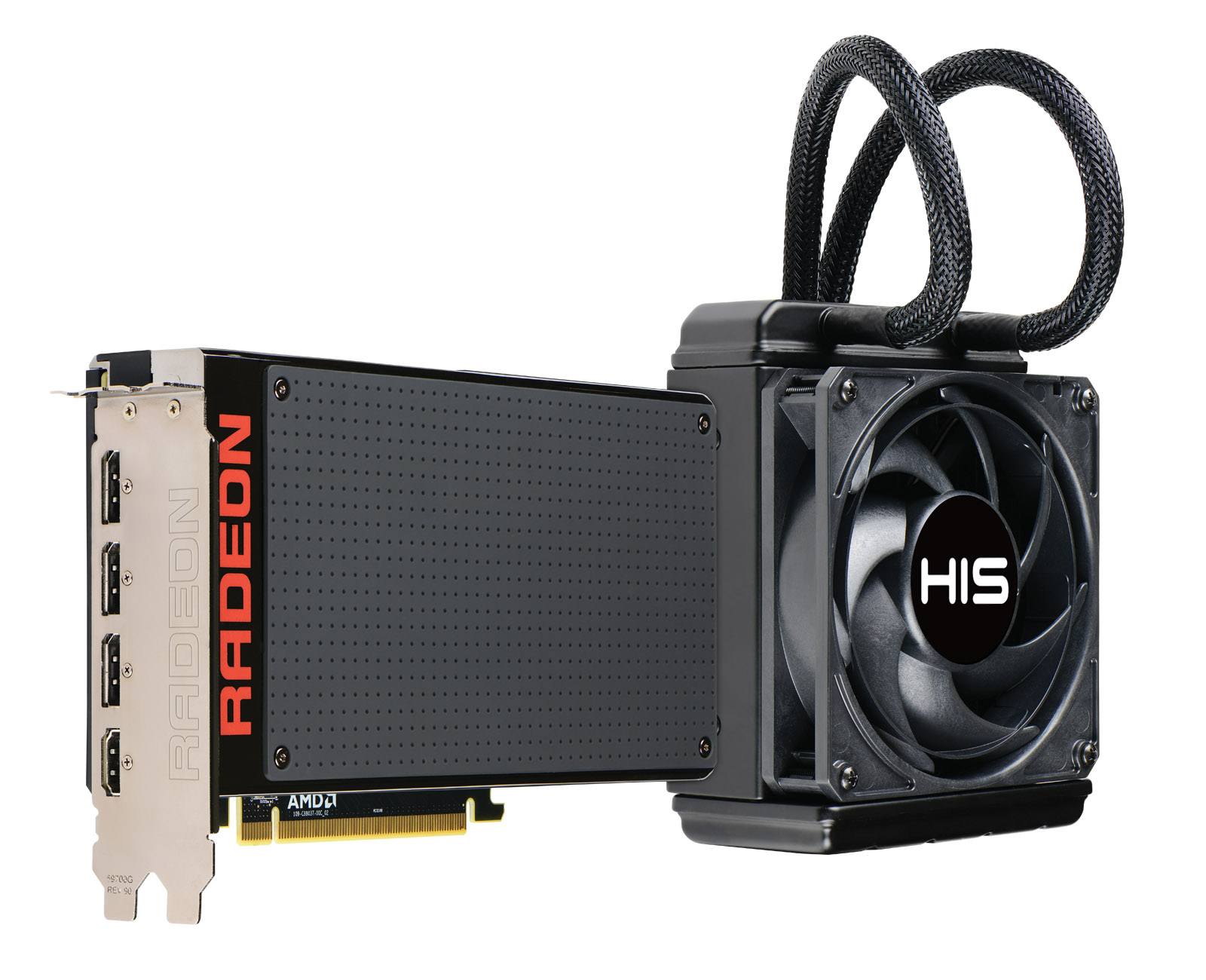 HIS R9 Fury X 4GB HBM < R9 390 Series < Desktop Graphics