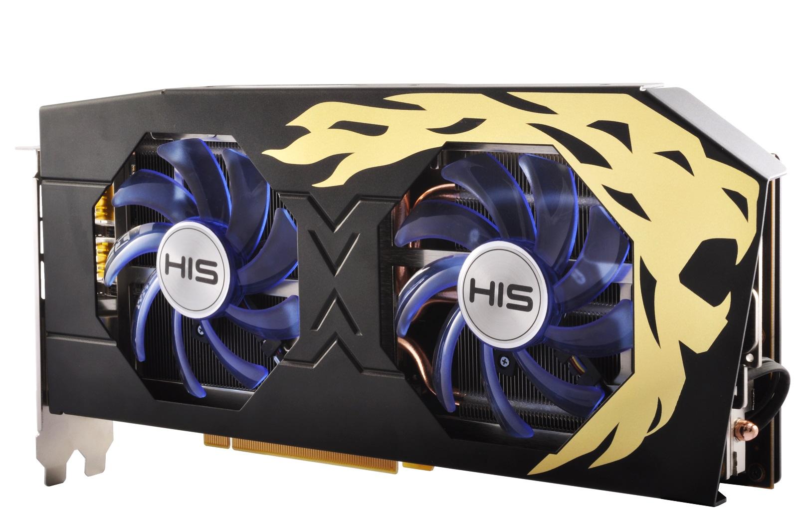 HIS RX 480 IceQ X² Roaring Turbo 8GB < RX 480 Series < Desktop