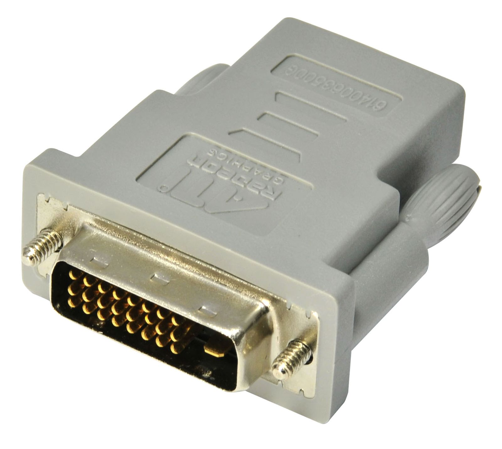 HIS DVI to HDMI Adapter for AMD 7000 / 6000 / 5000 series