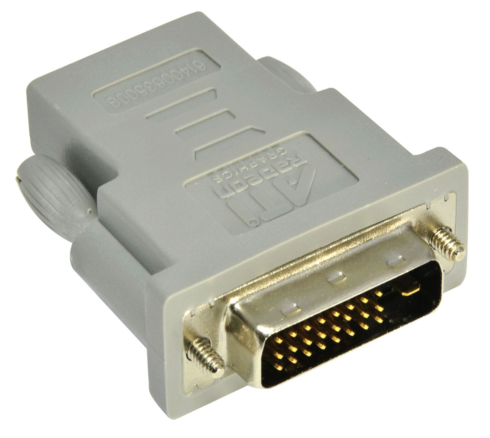His Dvi To Hdmi Adapter For Amd 7000 6000 5000 Series